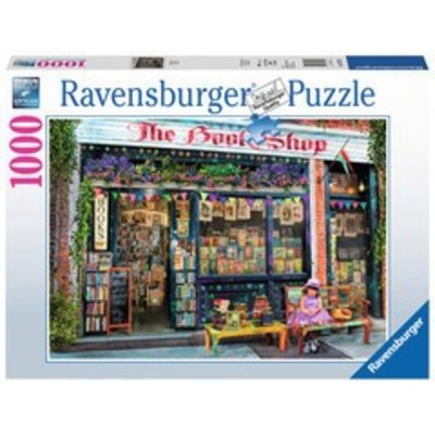 Ravensburger Ravensburger Puzzle 1000pc The Bookshop