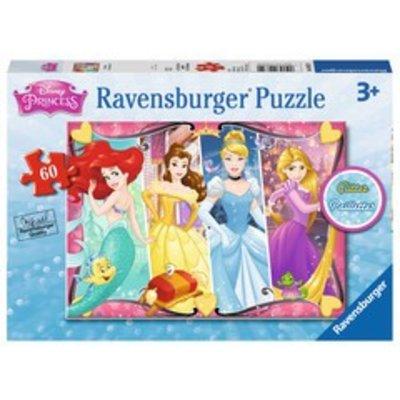 Ravensburger Ravensburger Puzzle 60pc Disney Glitter Heartsong