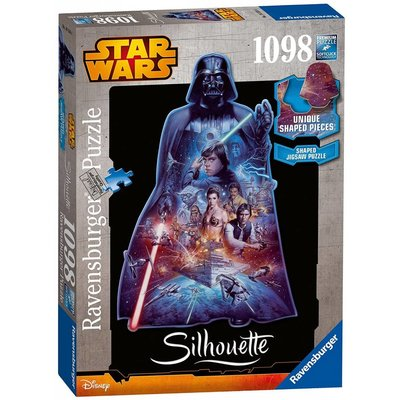 Ravensburger Ravensburger Puzzle Star Wars 1000pc Darth Vader