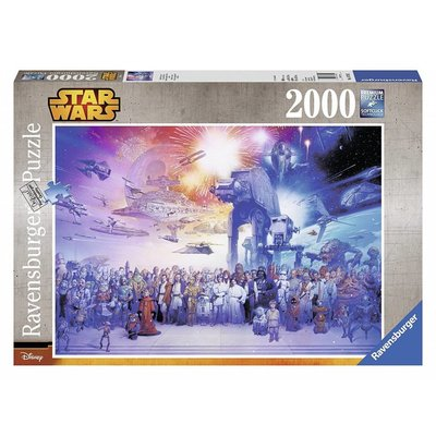 Ravensburger Ravensburger Puzzle Star Wars 2000pc Universe