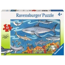 Ravensburger Ravensburger Puzzle 60pc Sea of Sharks