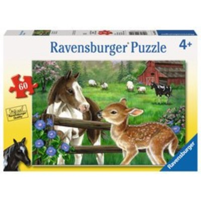 Ravensburger Ravensburger Puzzle 60pc New Neighbors