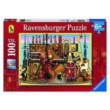 Ravensburger Ravensburger Puzzle 100pc Music Castle disc