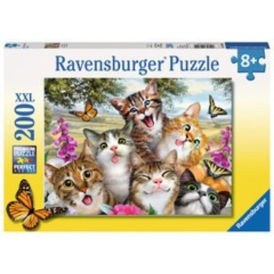 Ravensburger Ravensburger Puzzle 200pc Friendly Felines