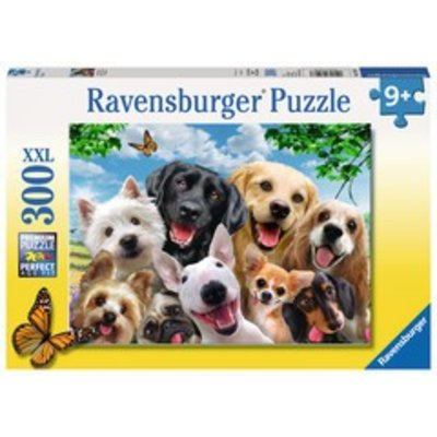 Ravensburger Ravensburger Puzzle 300pc Delighted Dogs