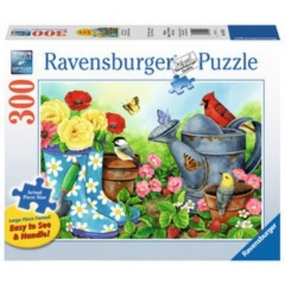 Ravensburger Ravensburger Puzzle 300pc Lrg Garden Traditions