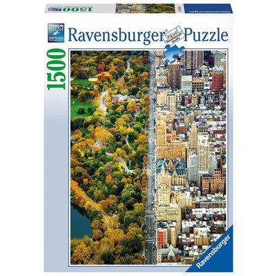 Ravensburger Ravensburger Puzzle 1500pc Divided Town