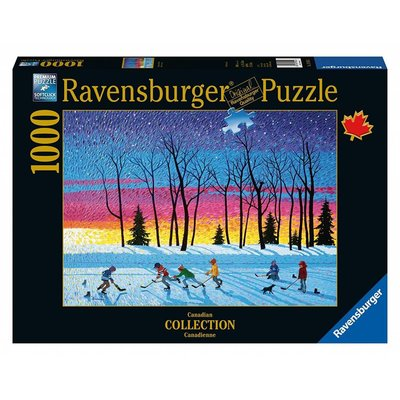 Ravensburger Ravensburger Puzzle 1000pc Canadian Sundown & Stars