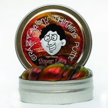 Crazy Aaron Crazy Aaron's Thinking Putty Illusions Lava Small Tin