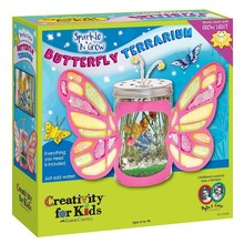 Creativity for Kids Creativity for Kids Sparkle & Grow Butterfly Terrarium