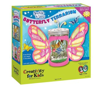 Creativity for Kids Sparkle & Grow Butterfly Terrarium
