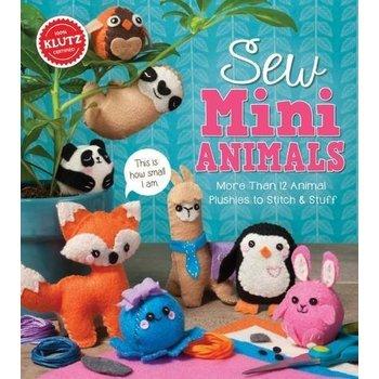 Klutz Klutz Book Sew Mini Animals