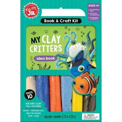 Klutz Klutz Book Jr My Clay Critters