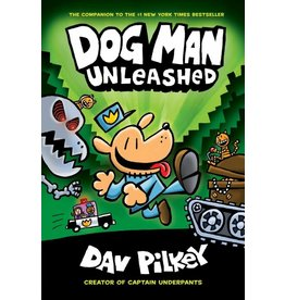 Scholastic Scholastic Book Dog Man #2 Pilkey Unleashed