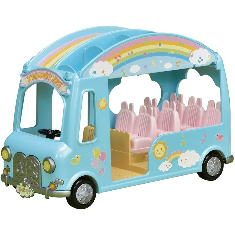 Calico Critters Calico Critters Sunshine Nursery Bus