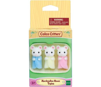 Calico Critters Triplets Marshmallow Mouse