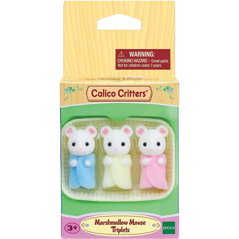 Calico Critters Calico Critters Triplets Marshmallow Mouse