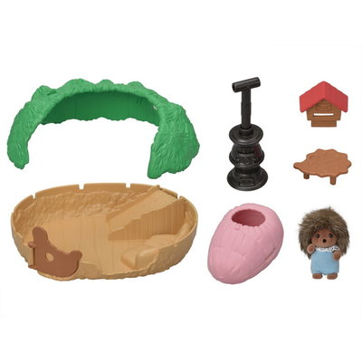 Calico Critters Calico Critters Baby Hedgehog Hideout