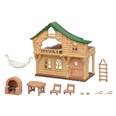 Calico Critters Calico Critters Lakeside Lodge Gift Set New!