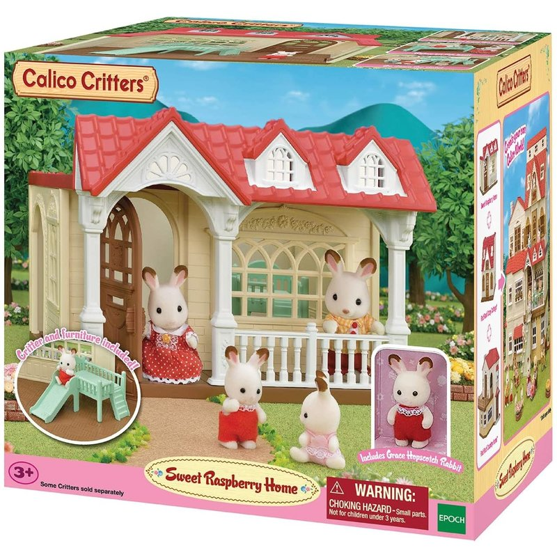 Calico Critters Calico Critters Sweet Raspberry Home