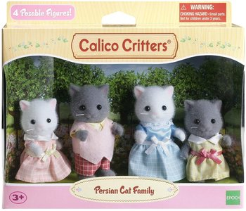 Calico Critters Family Persian Cat Family