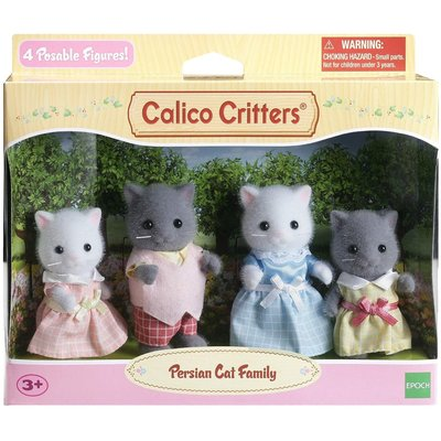 Calico Critters Calico Critters Family Persian Cat Family New!