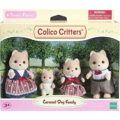 Calico Critters Calico Critters Family Caramel Dog Family