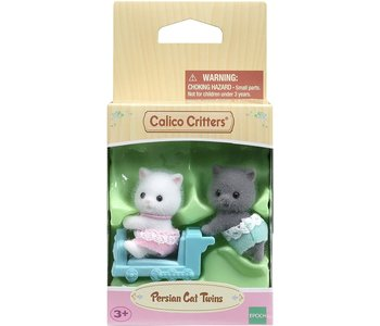 Calico Critters Twins Persian Cat