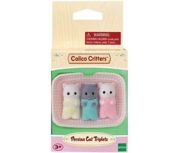 Calico Critters Triplets Persian Cat