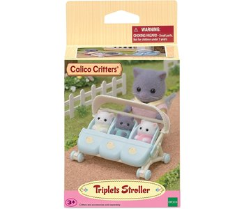 Calico Critters Triple Stroller