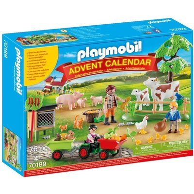 Playmobil Playmobil Advent Calendar 2020 Farm