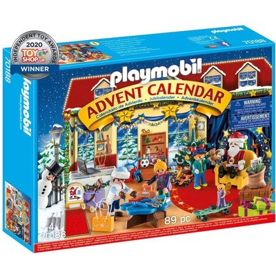 Playmobil Playmobil Advent Calendar 2020 Christmas Toy Store