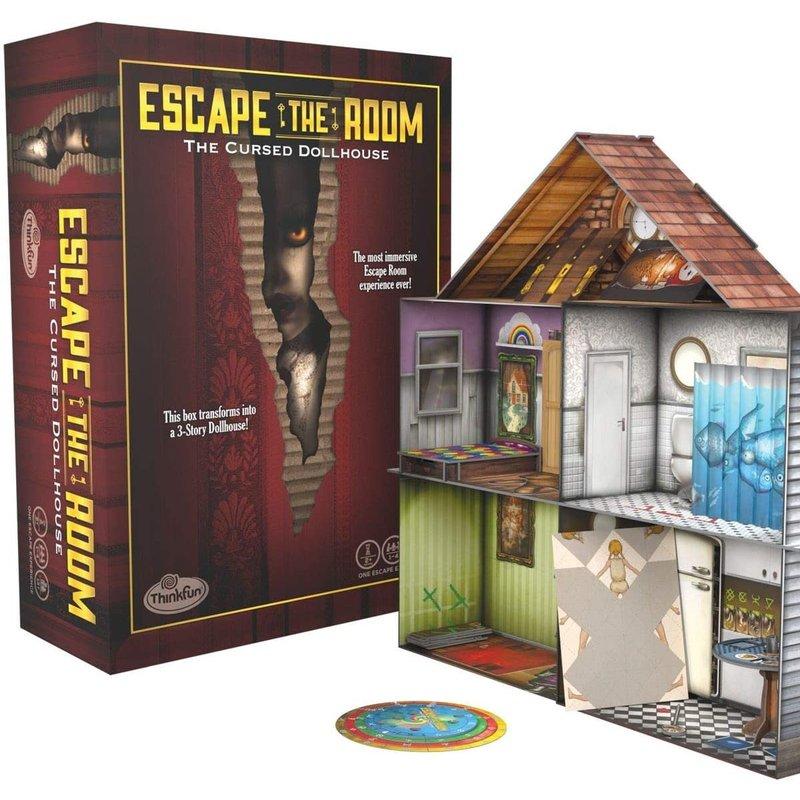 Thinkfun Thinkfun Game Escape the Room The Cursed Dollhouse