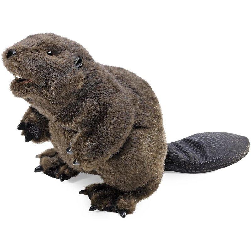Folmanis Puppet Beaver