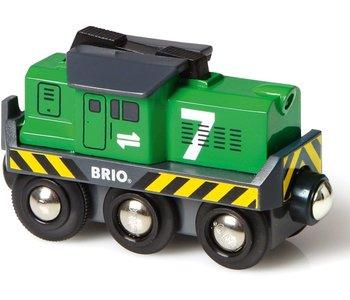 Brio World Battery Train Freight Engine