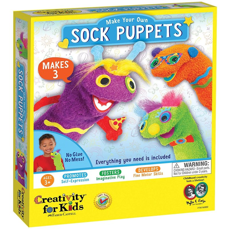 Creativity for Kids Creativity for Kids My First Sock Puppets