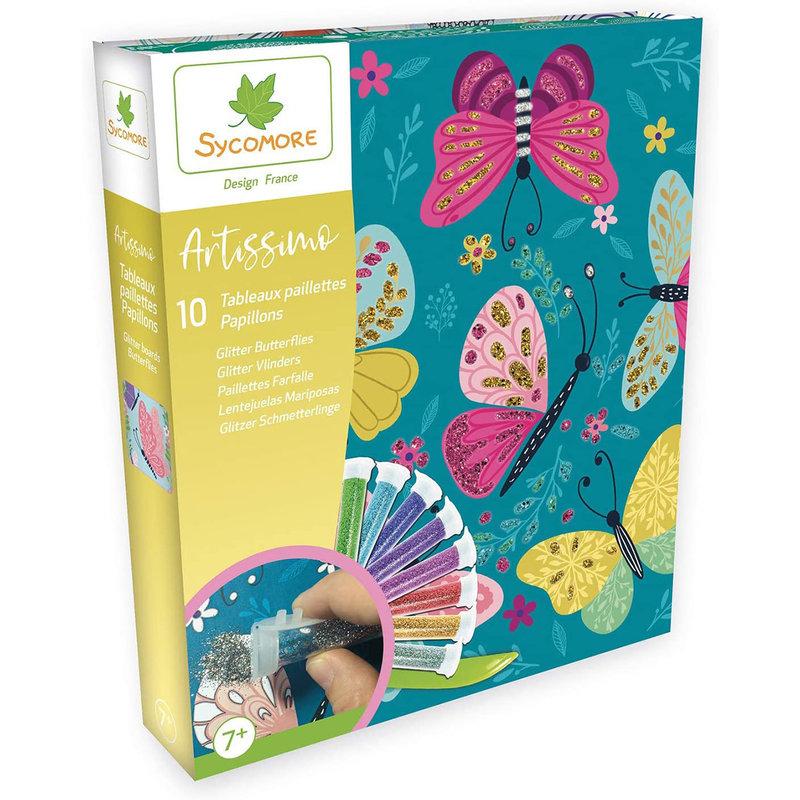 Sycomore Artissimo Glitter Butterflies