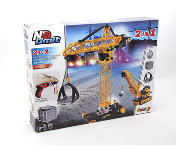 No Limit 2 in 1 Building Crane Set