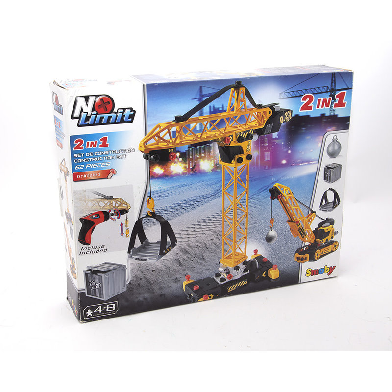 No Limit 2 in 1 Building Crane Set
