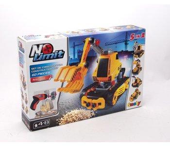 No Limit 5 in 1 Building Construction Set