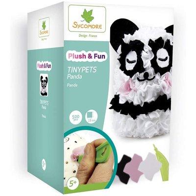 Sycomore Plush 'N Fun Tinypets Panda