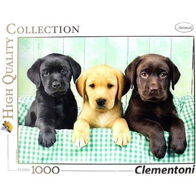 Clementoni Clementoni Puzzle 1000pc 3 Labradors