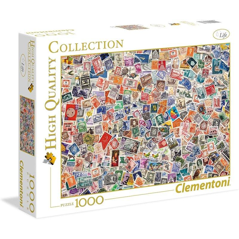 Clementoni Puzzle 1000pc Stamps