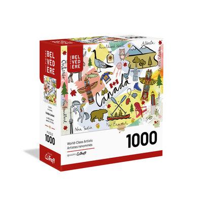 Trefl Puzzle 1000pc Canada