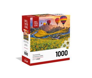 Trefl Puzzle 1000pc Hot Air Balloons