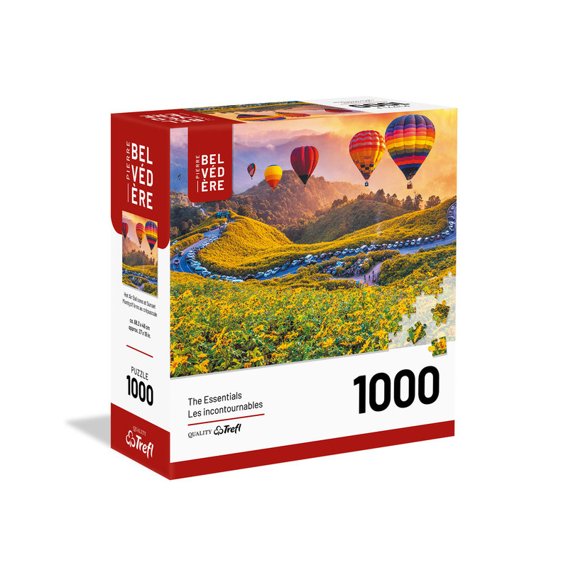 Trefl Trefl Puzzle 1000pc Hot Air Balloons