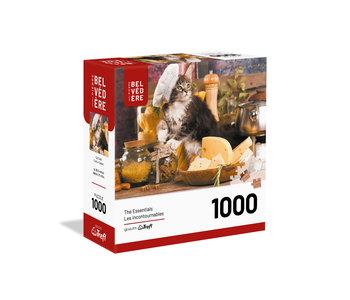 Trefl Puzzle 1000pc Cat Cook