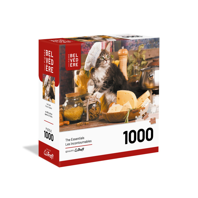 Trefl Trefl Puzzle 1000pc Cat Cook
