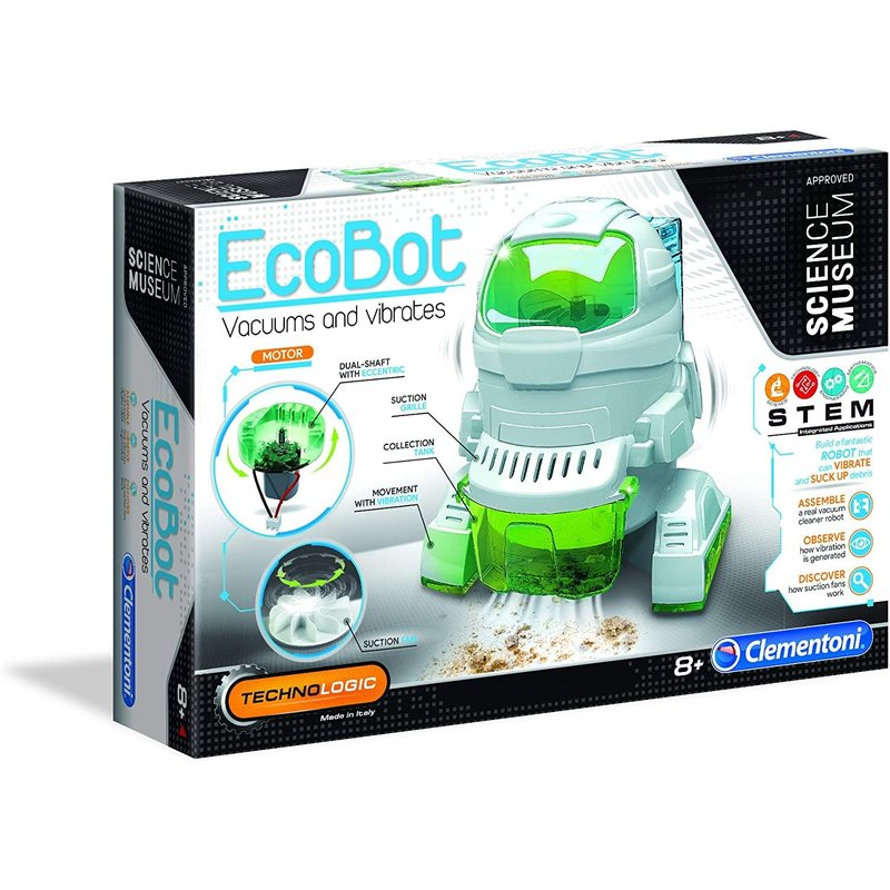 Clementoni Clementoni Robot Eco Bot Vacuum