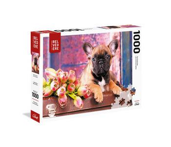 Trefl Puzzle 1000pc Romantic Dog